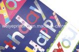 Neuestes Drucken-kundenspezifisches Papiertütenkleid Verpacken