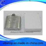 Esportazioni Hip miniatura della fabbrica della boccetta dell'acciaio inossidabile