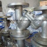 Y-Tamis d'extrémité de bride de norme ANSI avec l'acier inoxydable