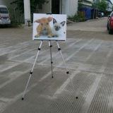 De Schildersezel van de Vertoning van het Canvas van de Schildersezel van het Aluminium van de verkoop