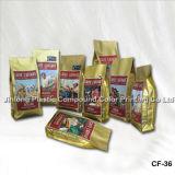 Manfactory Quad Sealed Coffee Bag Packaging