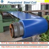 (0.14mm-0.8mm) Folha de aço galvanizada corrugada Dx51d+Z85 da telhadura