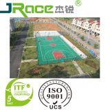 Multi-Utilizar los deportes al aire libre y de interior del plástico que suelan la superficie
