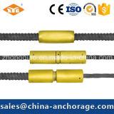 糸の棒鋼のための高い抗張鋼鉄カプラー
