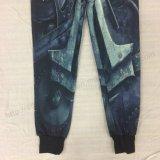 남성복 의류 Fw 8750에 있는 형식 Tranfer 인쇄 남자 우연한 바지
