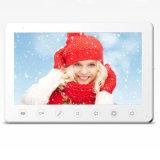 7 polegadas de telefone video da porta da segurança Home do intercomunicador do Doorbell da memória