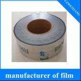 Película metalizada Polythene impermeável do material do PE da impressão e do PE do uso da agricultura para o perfil do PVC