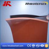 Огнезамедлительная резина губки силикона покрывая с низкой ценой