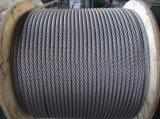 304 1X7 de Kabel van de Draad van het Roestvrij staal T/S: 1570 MPa