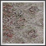 網の地上のスパンコールの刺繍のレースの網のスパンコールのレースのテュルのスパンコールのレース