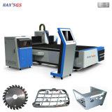 Nuovo laser della tagliatrice del laser della fibra di CNC per il metallo di taglio