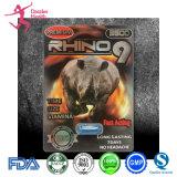 Rinoceronte 12 6000 rinocerontes do rinoceronte 9 7 comprimidos masculinos do sexo 3D