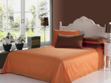 De eenvoudige Reeksen van het Beddegoed van de Kleur van de Manier Stevige voor Huis/Hotel