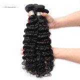 Парик фронта шнурка волны парика человеческих волос глубокий