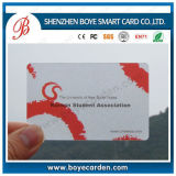 Heißer Verkaufs-transparente Plastikkarte