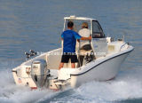 barco de pesca superior duro da fibra de vidro de 21FT