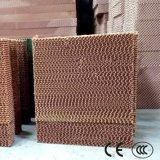 Almofada evaporativa industrial/agricultural refrigerar de ar do sistema refrigerando
