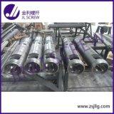 Chaîne de production d'extrusion baril jumeau conique bimétallique de vis (JLA-80/156)