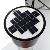 3.7V batería de litio 13.2ah 3W LED luces solares para el jardín