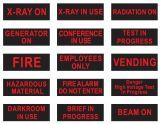 LED 위험 Laser 온/오프 Sw 방법 암실 표시