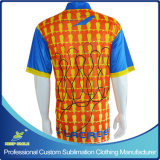 주문 Club Team를 위한 Sublimation Men Sports Bowling Shirts