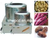 감자 청소와 껍질을 벗김 기계