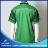 Sublimation su ordine Polo Tee Shirt per gli uniformi scolastichi