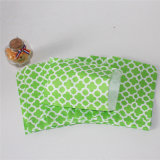 Мешок обслуживания конфеты бумаги украшения дома зеленого цвета
