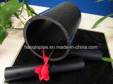 Pipe noire de HDPE d'approvisionnement en eau de prix usine de couleur de DN 300