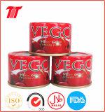 70 G Vego eingemachter Tomatenkonzentrat-chinesischer Hersteller von neuem Getreide 2016