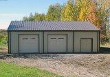 Garagem pré-fabricada da construção de aço (KXD-CH75)
