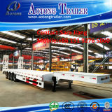 China 2-4 Axles 40-80ton Low Bed Lowboy Tractor Semi Trailers