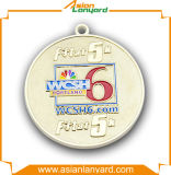 médailles faites sur commande en alliage de zinc du modèle 3D avec la bande