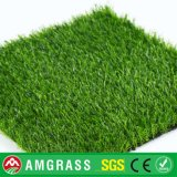 Erba sintetica della Cina per il giardino esterno, certificato dello SGS