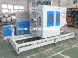 Linha de produção plástica máquina da tubulação do PVC da extrusora