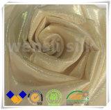 Tela de seda natural com estilo Chiffon para a roupa de noite