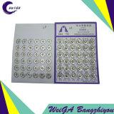 Белизна кнопки 4# давления металла плакировкой Hua Tai