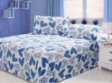 2015 New Coral Fleece Carved Bedding Set
