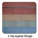 Material de material para techos colorido adhesivo de /Bitumen del azulejo de azotea de la fibra de vidrio de /Self de la ripia de la azotea del asfalto con la ISO