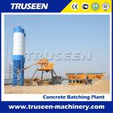 pequeña máquina concreta preparada de la construcción de una fábrica de mezcla 35m3/H
