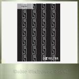 Nr., 8 Spiegel-schwarzer Farben-Blatt-Edelstahl für Innendekoration