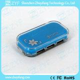 Mozzo Port 2.0 (ZYF4234) del USB di disegno 4 di cristallo di caso