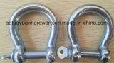 Fournisseur d'usine Type Européen Straight Bow / Dee Shackle Rigging