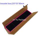 Venta al por mayor de la caja de embalaje de la joyería del regalo del papel de la cartulina del oro Jy-Jb96