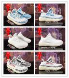 Подталкивание 350 Kanye западное Yezzy 2017 ботинок женщин людей персика белуги Sply-350 подталкивания V2 Yeezy 350 оригиналов черное белое черное идущих