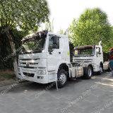 HOWO 371HP 4X2 유로 2대의 트랙터 트럭