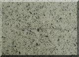 Pedra artificial cinzenta, lajes de pedra de quartzo para a bancada