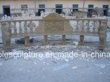 Tabelle di pietra beige del marmo della scultura (SY-T002)