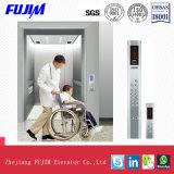 3.0m/Sヘアラインステンレス鋼が付いている住宅のエレベーターの伸張器の上昇