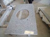 Controsoffitti prefabbricati grigi del granito G603 di Bianco per la cucina